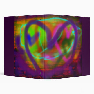 I Heart Graffiti 3 Ring Binders