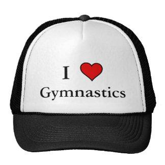 I Heart Gymnastics Trucker Hat