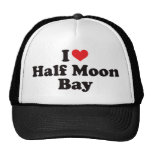 I Heart Half Moon Bay Mesh Hat