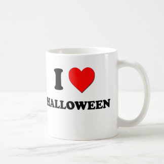 I Heart Halloween Mugs