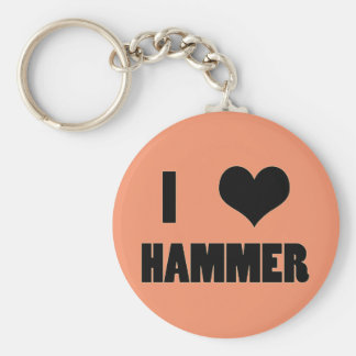 I Heart Hammer, Hammer Throw Keychain