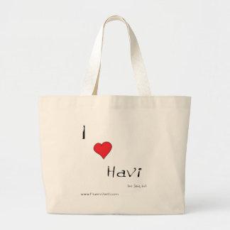 I heart havi bag