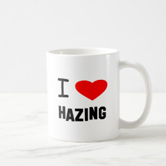 I Heart hazing Basic White Mug