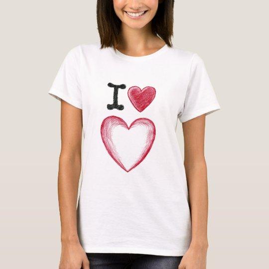 I heart heart (a.k.a. I love love) T-Shirt