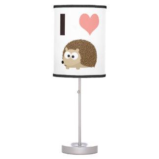 I heart Hedgehogs Table Lamp
