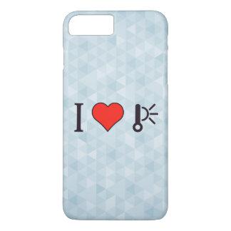 I Heart High Temperature iPhone 7 Plus Case