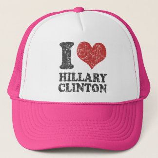 I heart Hillary Clinton Retro Trucker Hat