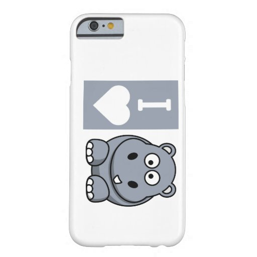 I Heart Hippos Phone Case iPhone 6 Case