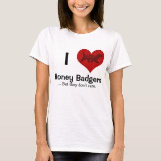I Heart Honey Badgers T-Shirt