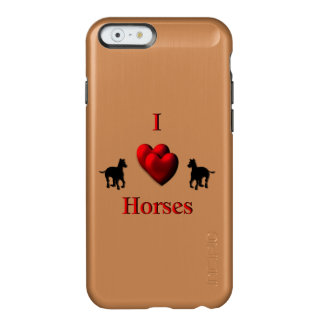I Heart Horses Incipio Feather® Shine iPhone 6 Case