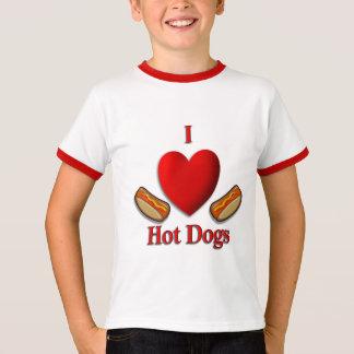 I Heart Hot Dogs T-Shirt