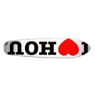 I Heart HOU Skate Board
