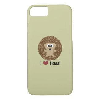 I Heart Hugs hedgehog iPhone 8/7 Case
