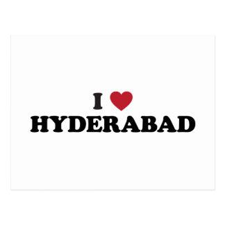 I Heart Hyderabad Postcard