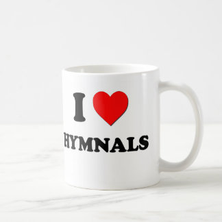 I Heart Hymnals Coffee Mug