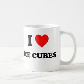 I Heart Ice Cubes Coffee Mugs