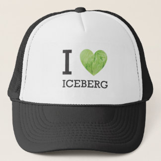 I Heart Iceberg Trucker Hat