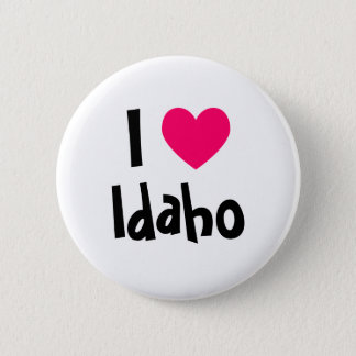 I Heart Idaho 2 Inch Round Button
