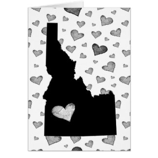 I Heart Idaho USA Card