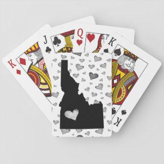I Heart Idaho USA Playing Cards