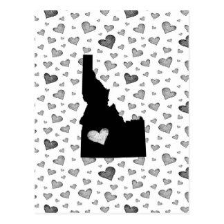 I Heart Idaho USA Postcard