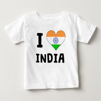 I Heart India Baby T-Shirt