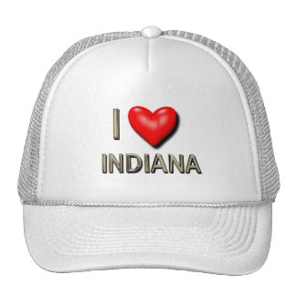 I Heart Indiana Trucker Hat