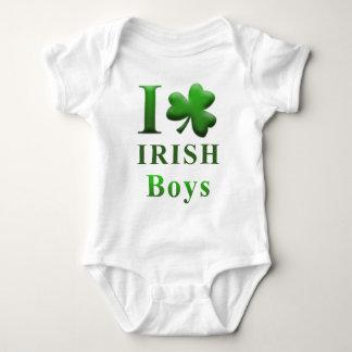 I Heart Irish Boys Baby Bodysuit