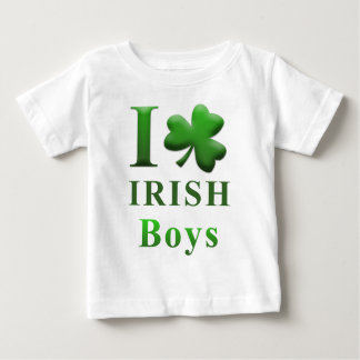 I Heart Irish Boys Baby T-Shirt
