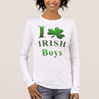 I Heart Irish Boys Long Sleeve T-Shirt