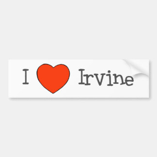 I Heart Irvine Bumper Sticker