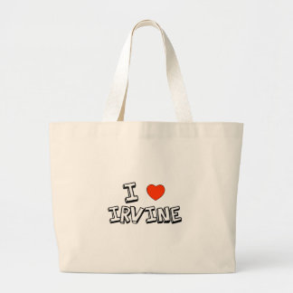 I Heart Irvine Large Tote Bag
