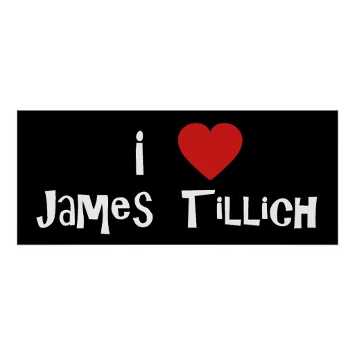 I Heart James Tillich Print