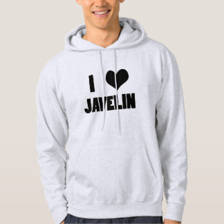 I Heart Javelin, Javelin Throw Hoodie