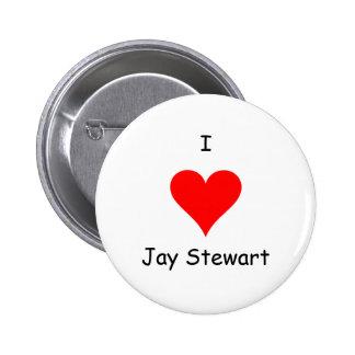 I heart Jay Stewart Button