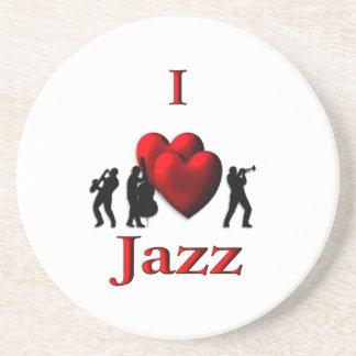 I Heart Jazz Coaster
