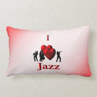 I Heart Jazz Lumbar Pillow