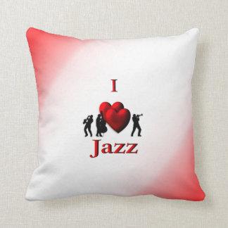 I Heart Jazz  Mojo Pillow