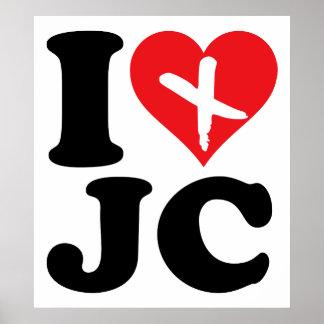 I Heart JC Poster