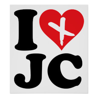 I Heart JC Posters