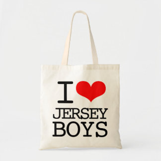 I Heart Jersey Boys Tote Bag
