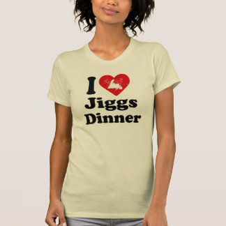 I heart Jiggs Dinner T-Shirt