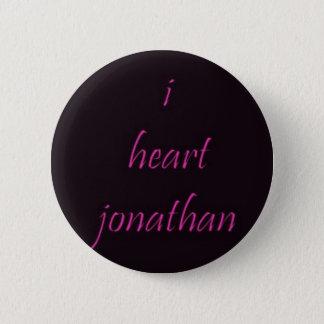 i heart jonathan 2 inch round button