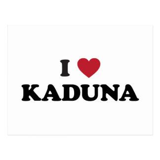 I Heart Kaduna Nigeria Postcard