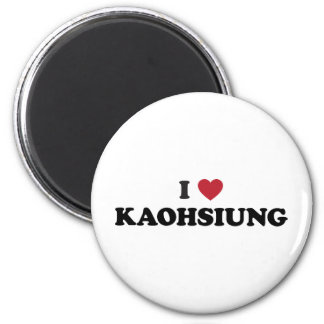 I Heart Kaohsiung Taiwan 2 Inch Round Magnet