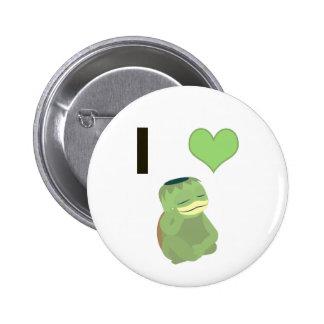 I Heart Kappa 2 Inch Round Button