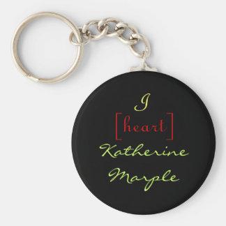 I [heart] Katherine Marple Keychain
