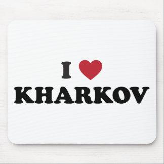 I Heart Kharkov Ukraine Mouse Pad