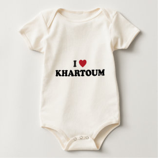 I Heart khartoum sudan Baby Bodysuit