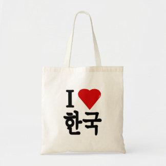 I Heart Korea Tote Bag
